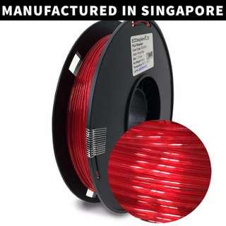 ECOmaylene 3D - PLA 3D Printer Filament| Ferrari Red - 500g