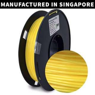 ECOmaylene 3D - PLA 3D Printer Filament | Fuzzy Yellow - 500g