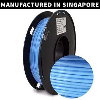 ECOmaylene 3D - PLA 3D Printer Filament | Aquamarine Blue - 500g