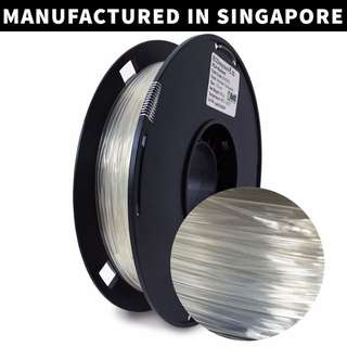 ECOmaylene 3D - PLA 3D Printer Filament | Anti-Flash Transparent - 500g