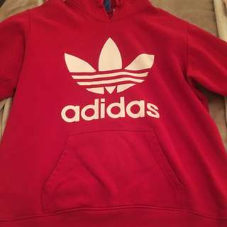 Adidas RED Hoddie XL