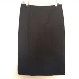 Black Professional Work Skirt