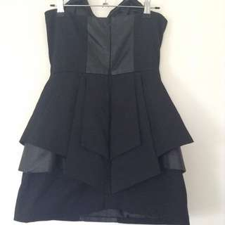 Mossman Black Cocktail Dress