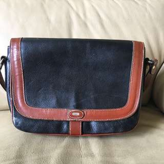 Made In Italy Bally Vintage Leather Handbag 手袋 包包
