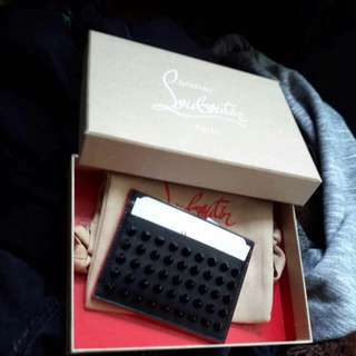 Christian Louboutin Spiked card Holder
