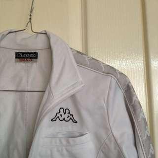 KAPPA Vintage Jacket - White & Silver