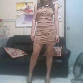 Sleeveless Body Con Dress
