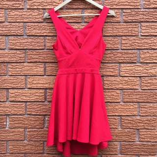 Red Dress - Size S