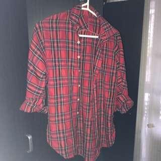 Thin Oversized Shirt