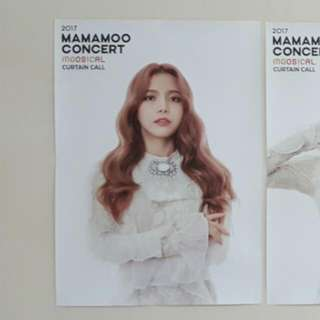 Mamamoo Moosical Curtain Call Poster (Official Goods)