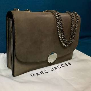 Marc Jacobs Suede Leather Chain Bag (OP:20000)