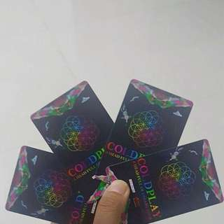 Coldplay Ticket Bangkok ( Middle - E3L )