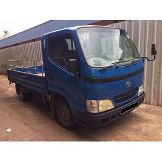 Toyota Dyna Open Canopy For Lease