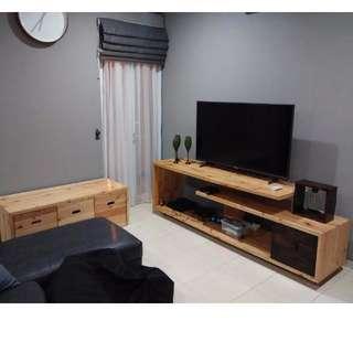 furniture kayu pallet bisa custom