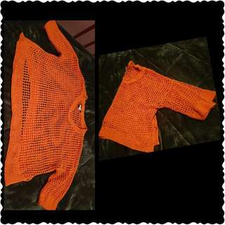 Reshable Orsnge Sweater