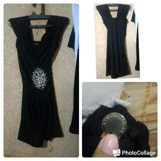 Black Dress By Dencibelle