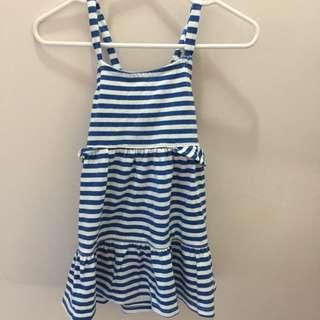 Crazy8 Dress Sz 6-12mos