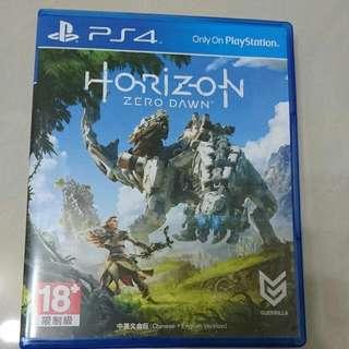 PS4 地平線 期待黎明 Horizon Zero Dawn 中文
