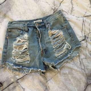 Minkpink ripped Shorts