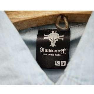 Planet Surf Chambray Shirt NEW