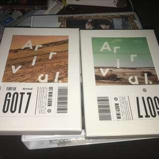Got7 Arrival Albums