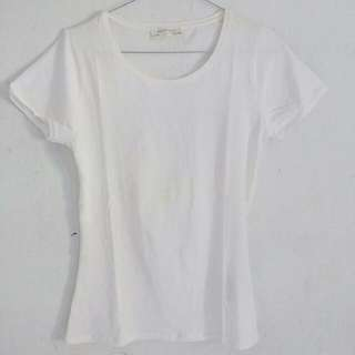 Zara basic White Shirt