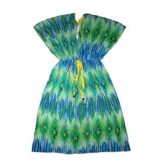 Coco Cabana Kimono Beach Dress (M)
