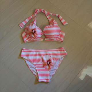 Two Piece Floral Swimsuit