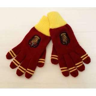 Harry Potter Gryffindor Striped Gloves