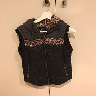 BRAND NEW ALL ABOUT EVE ZIP VEST