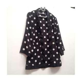 kimono polkadot