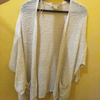 H&M Knitted Cardigan Cover Up