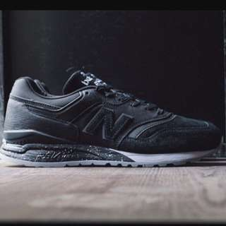 (STEAL)NEW BALANCE 997.5 BLACK US 8 100% AUTHENTIC