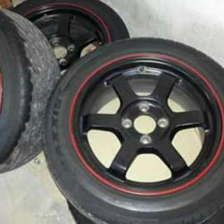 Mags-tire set