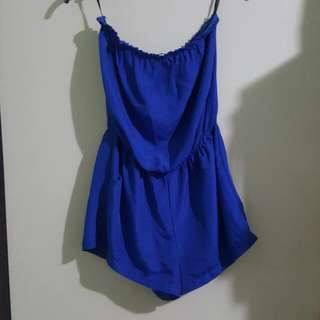Strapless Supre Playsuit