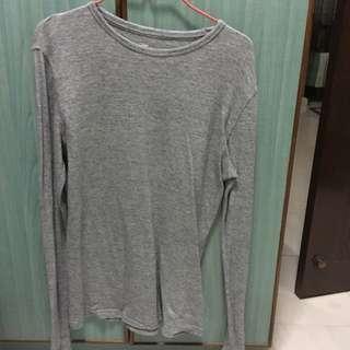 H&M grey long sleeve