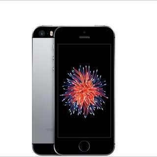iPhone SE 64GB 黑 太空灰
