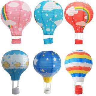 [For SALE!!] Hot Air Balloon (Paper lantern)