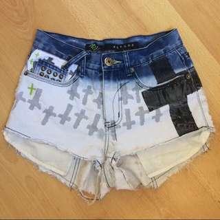 REFUGE High Waisted Shorts