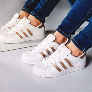 Adidas Original Superstar 超美玫瑰金 Nike Vas