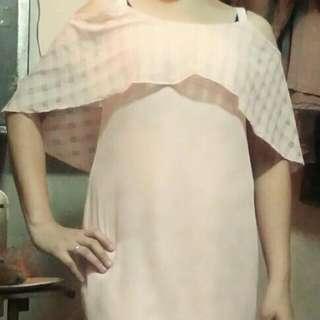 peach dress brand: Unica hija