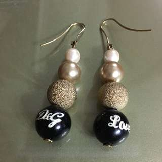 D&G Earrings ( Pearls) 珍珠 長 耳環