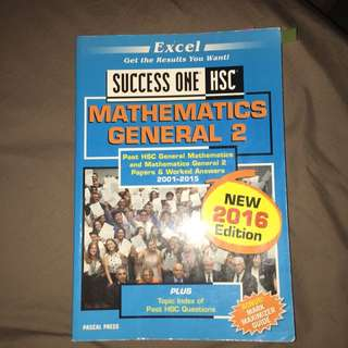 Success One HSC General Maths