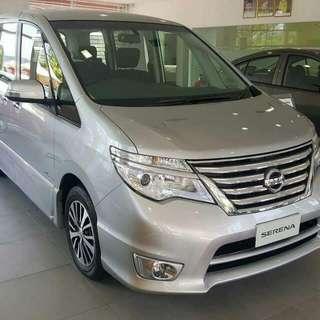 Nissan Serena S- Hybrid 2.0 (Minimum Downpayment)