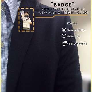 Brick Badge