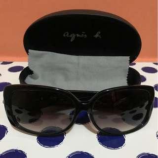 Agnes b sunglasses 太陽眼鏡