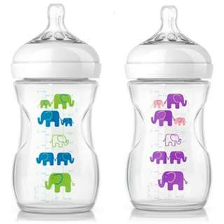 avent bottle natural decoded / botol susu natural