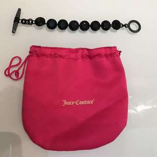 🈹🈹🈹Sale!! Juicy Couture 黑鑽手鍊 手鏈