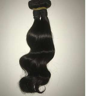 human hair UNPROCESSED we have Brazilian, Malaysian and Peruvian <<<