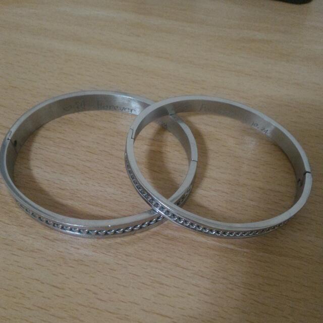 情侶鋼手環